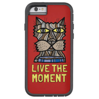 """Live the Moment"" Tough Xtreme Phone Case"