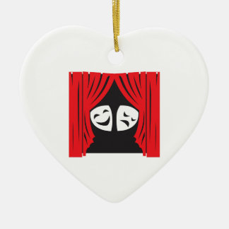 LIVE THEATRE CERAMIC ORNAMENT