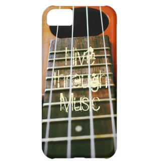 Live through Music Case For iPhone 5C