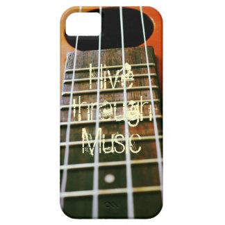 Live through Music iPhone 5 Cases