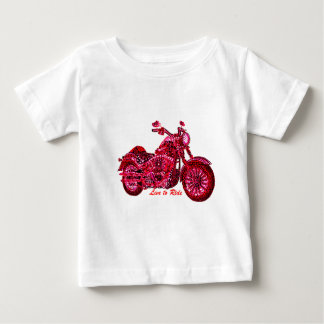 Live to Ride Baby T-Shirt