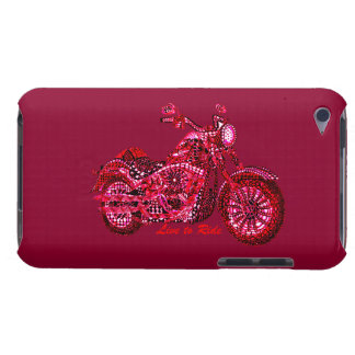 Live to Ride Barely There iPod Cover