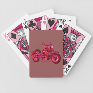 Live to Ride Bicycle Playing Cards