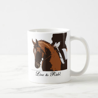 Live to Ride! Coffee Mug