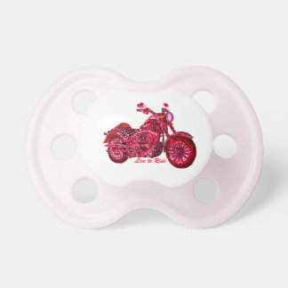 Live to Ride Pacifier