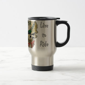 LIVE TO RIDE.png Travel Mug