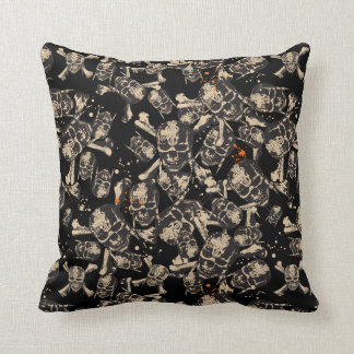 Live To Tell The Tale Pattern Throw Pillow