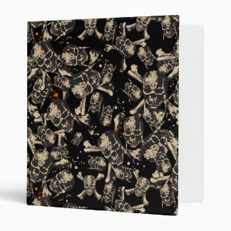 Live To Tell The Tale Pattern Vinyl Binder