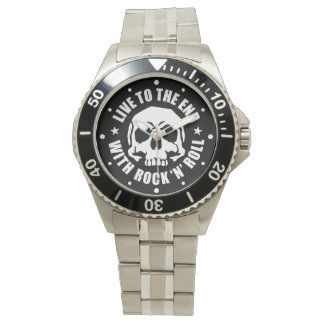 LIVE TO THE END WITH ROCK 'N' ROLL (Type R) Wristwatches