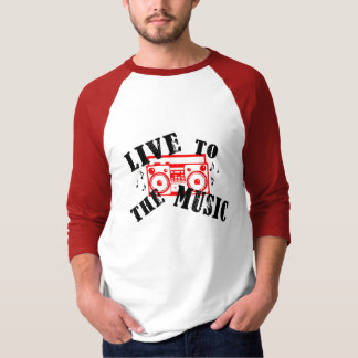 Live To The Music: EBDT Performance 2009 T-Shirt