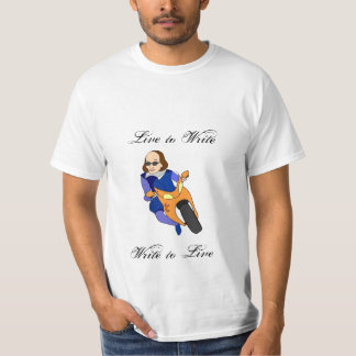 Live to Write... (Full Color) T-Shirt