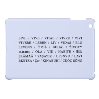 Live Vive - Daily Life Motivation iPad Mini Covers