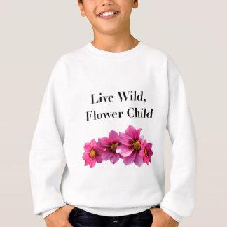 Live Wild Flower Child Sweatshirt
