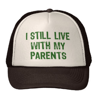 Live with Parents Trucker Hat