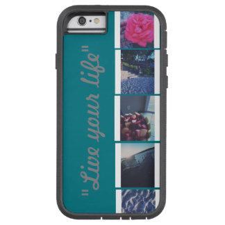 live you life! tough xtreme iPhone 6 case