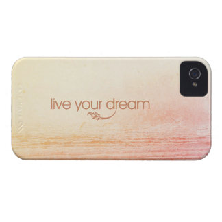 Live Your Dream iPhone 4 Case-Mate Cases