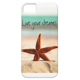 Live your dreams in the summer case for the iPhone 5