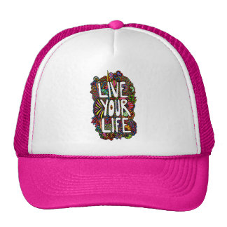Live Your Life - Color Mesh Hats