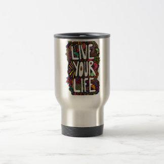 Live Your Life - Color Mug