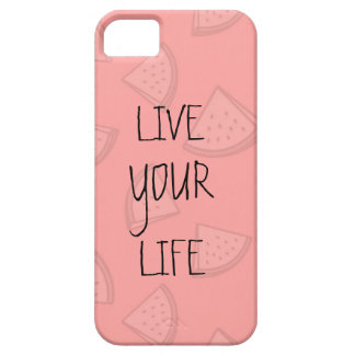 LIVE YOUR LIFE iPhone 5 CASES