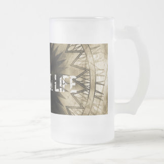 Live your life beer mugs