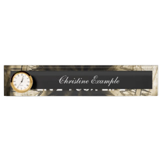 Live your life name plates