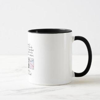 Live your life, no regrets mug