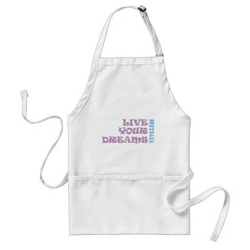 Live Your Softball Dreams Apron