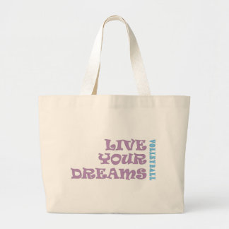 Live Your Volleyball Dreams Jumbo Tote Bag