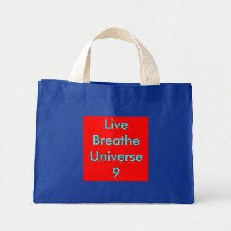 LiveBreatheUniverse9 Mini Tote Bag