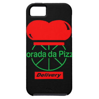 Lived of the Pizza - Black iPhone 5 Cases