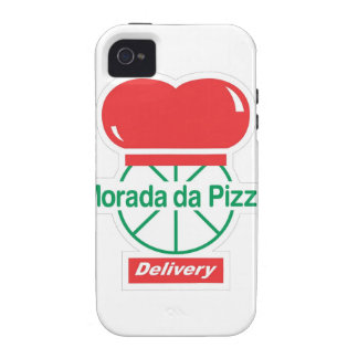Lived of the Pizza - White Case-Mate iPhone 4 Cases
