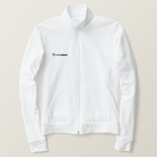 LiveJournal Logo Horizontal Embroidered Jacket