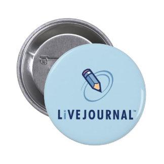 LiveJournal Logo Vertical 2 Inch Round Button