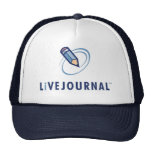 LiveJournal Logo Vertical Trucker Hat
