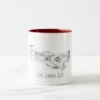 LiveLaughFLY Coffee Mug