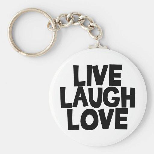 livelaughlove keychain