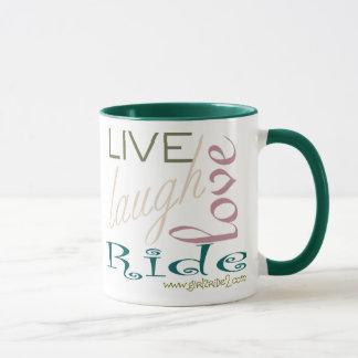 LiveLaughLoveRide-Coffee Mug
