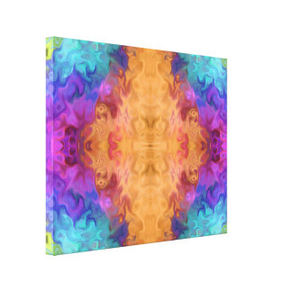 lively abstract 25.77.A Canvas Print