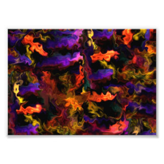 Lively Abstract Healing Blessings 55.4 Photo Print
