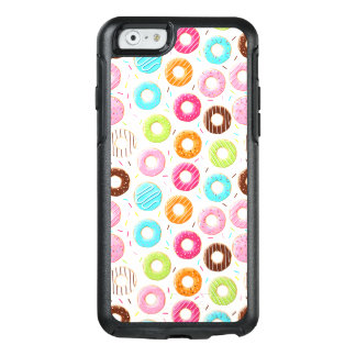 Lively colorful donuts sprinkles toppings pattern OtterBox iPhone 6/6s case
