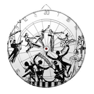 Lively Party with Dancing Dartboard