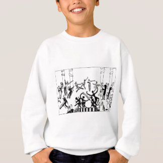 Lively Party with Dancing Sweatshirt