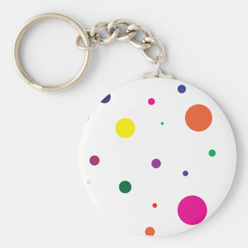 Lively stippels! keychain