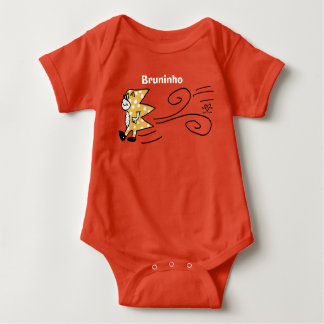 Livened up personage! baby bodysuit
