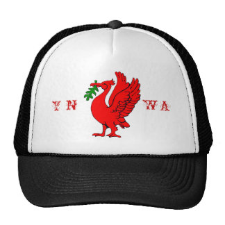 Liver bird trucker hat