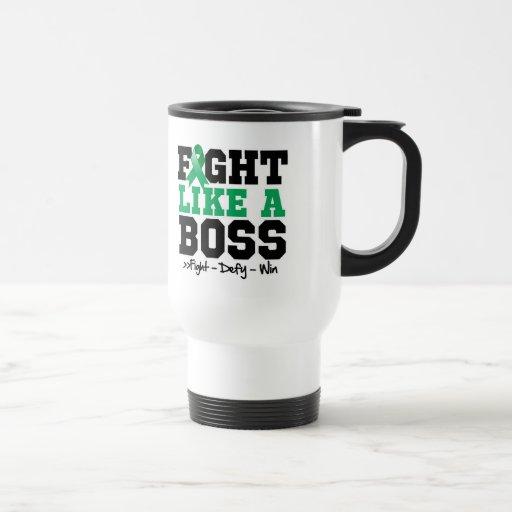 Liver Cancer Fight Like Boss Mugs