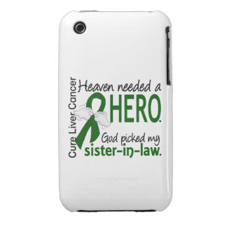 Liver Cancer Heaven Needed a Hero Sister-In-Law iPhone 3 Case