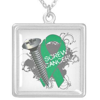 Liver Cancer - Screw Cancer Pendants