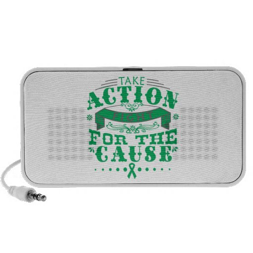Liver Disease Take Action Fight For The Cause Portable Speaker